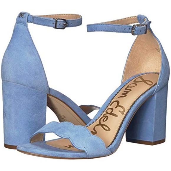 Sam Edelman Odila Sandal In Powder Blue